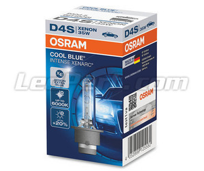 Xenon-lamp D4S Osram Xenarc Cool Intense Blue 6000K in de verpakking - 66440CBI