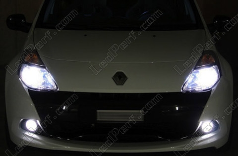 Lampen Diamond white op gas Xenon 5000K H4 Michiba