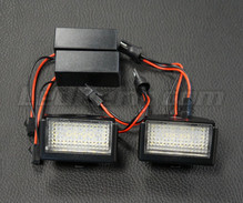 Set met 2 ledmodules nummerplaat achter Mercedes (type 5)