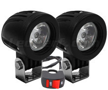 Phares additionnels LED pour Aprilia Atlantic 400 Sprint - Longue portée