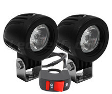Phares additionnels LED pour moto Ducati Monster 620 - Longue portée