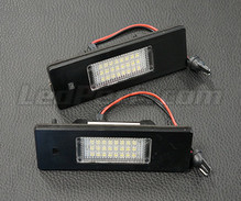 Set met 2 ledmodules nummerplaat achter BMW en MINI (type 3)