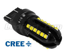 Ampoule W21/5W LED T20 Ultimate Ultra Puissante - 24 Leds CREE - Anti erreur ODB