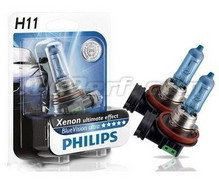 Pack de 2 Ampoules H11 White Vision Philips