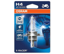 Lamp H4 Osram X-Racer Halogeeneffect Xenon pour Motor - 60/55 W