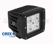 Extra CREE Vierkant 16 W led-koplamp voor Motor - Scooter - Quad