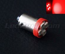 Led T4W - Fitting BA9S - Rood - Efficacity