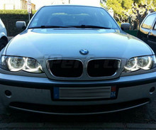 Set angel eyes met leds voor BMW E36 E38 E39 E46