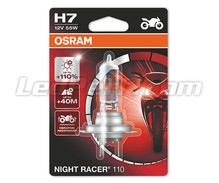 Lamp H7 Osram Night Racer 110 voor Motor - 64210NR1-01B