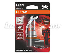 Lamp H11 Osram Night Racer 110 voor Motor - 64211NR1-01B