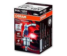 Lamp H4 Osram Night Breaker Laser +130%