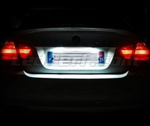 Ledset (zuiver wit) nummerplaat achter voor BMW Serie 3 - E90 E 91