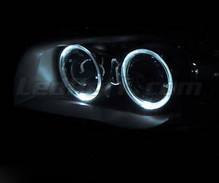 Set angel eyes met leds (zuiver wit) voorBMW Serie 1 fase 1 - MTEC V3.0