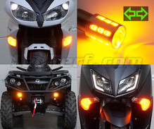 Set LED-knipperlichten voorzijde van de Derbi Cross City 125