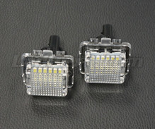 Set met 2 ledmodules nummerplaat achter Mercedes (type 3)