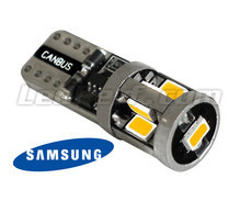 T10 W5W ledlamp Origin 360 - 9 leds Samsung - tegen storing boordcomputer