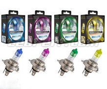 Set met 2 lampen H4 Philips ColorVision