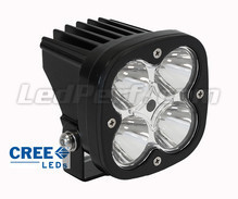 Extra CREE Vierkant 40 W led-koplamp voor Motor - Scooter - Quad