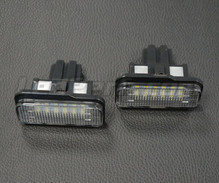 Set met 2 ledmodules nummerplaat achter Mercedes (type 2)