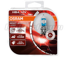 Set van 2 lampen HB4 Osram Night Breaker Laser +150% - 9006NL-HCB