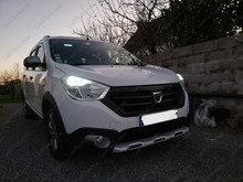 Led DACIA LODGY 2015 Stepway  Tuning