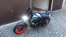 Led YAMAHA MT-07 2019 Darkside  Tuning